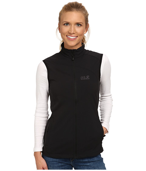Jack Wolfskin - Activate Vest (Black) Women