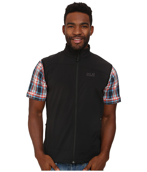 Jack Wolfskin - Activate Vest (Black) Men's Vest