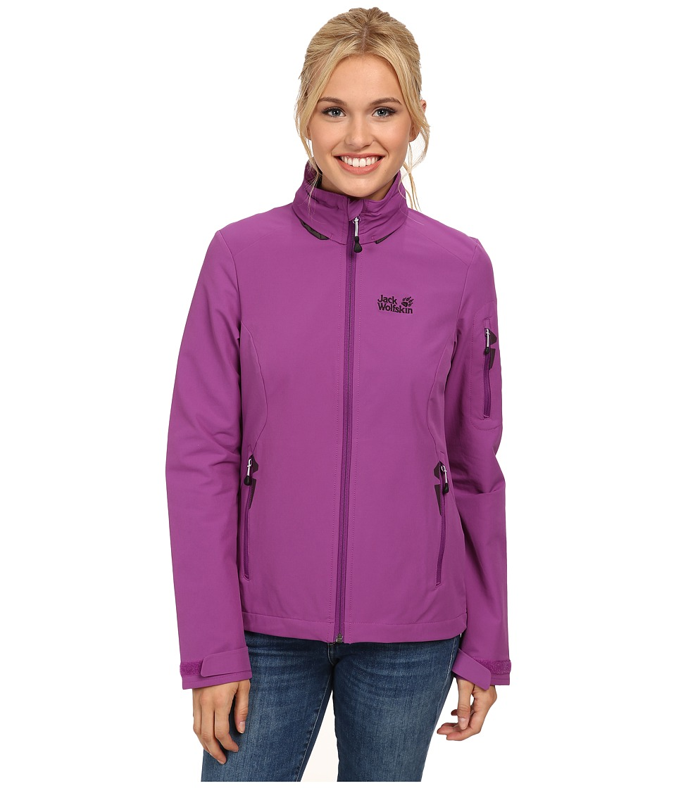 Jack Wolfskin - Muddy Pass XT Jacket (Hyacinth) Women's Jacket