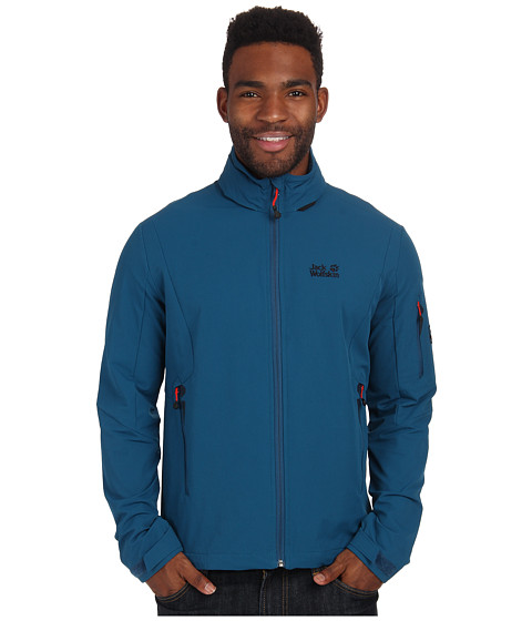 Jack Wolfskin - Muddy Pass XT Jacket (Moroccan Blue) Men
