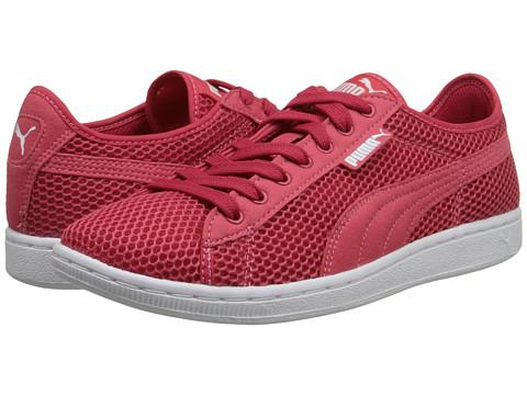 PUMA - Vikky Mesh (Geranium/Geranium) Women's Shoes