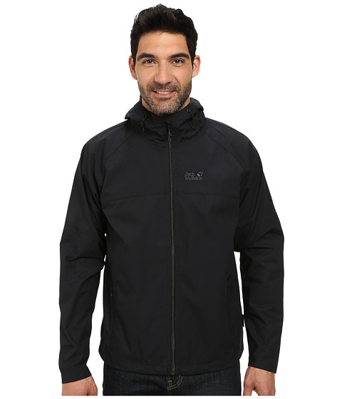 Jack Wolfskin - Amber Road (Black) Men's Clothing