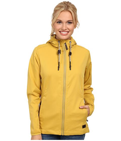 Jack Wolfskin - Manitoba II Jacket (Yellow Moss) Women