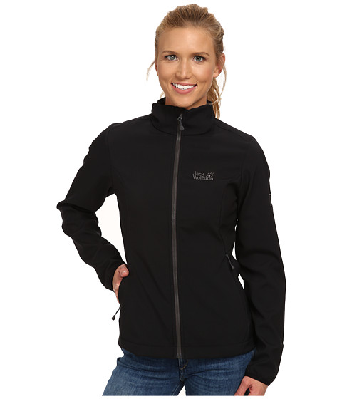 Jack Wolfskin - Element Softshell Jacket (Black) Women