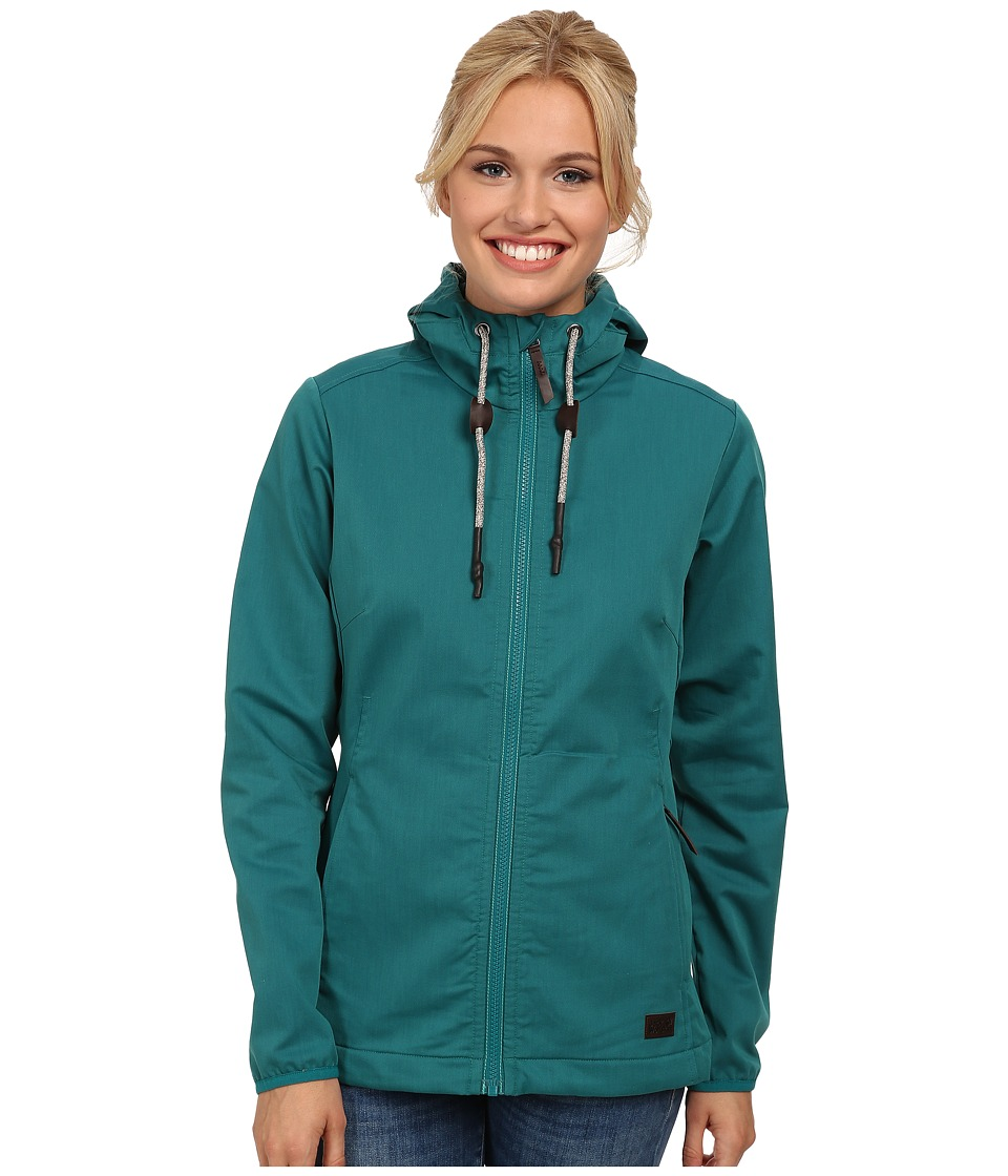 Jack Wolfskin - Manitoba II Jacket (Green Lake) Women's Jacket