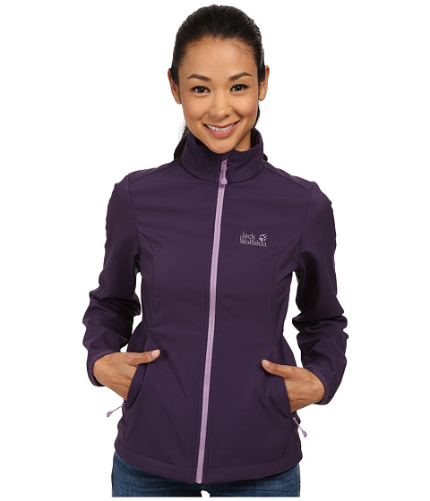 Jack Wolfskin - Element Softshell Jacket (Prune) Women