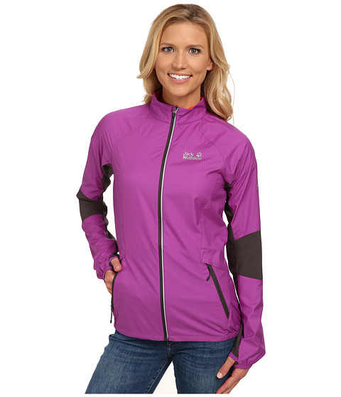 Jack Wolfskin - Exhalation Flyweight Jacket (Hyacinth) Women's Jacket