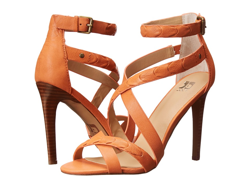 Joe's Jeans - Ramsey (Papaya Leather) High Heels