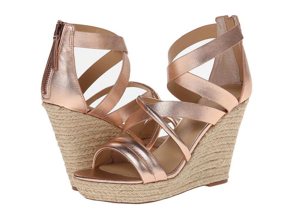 Joe's Jeans - Robina (Copper Metallic) Women's Wedge Shoes
