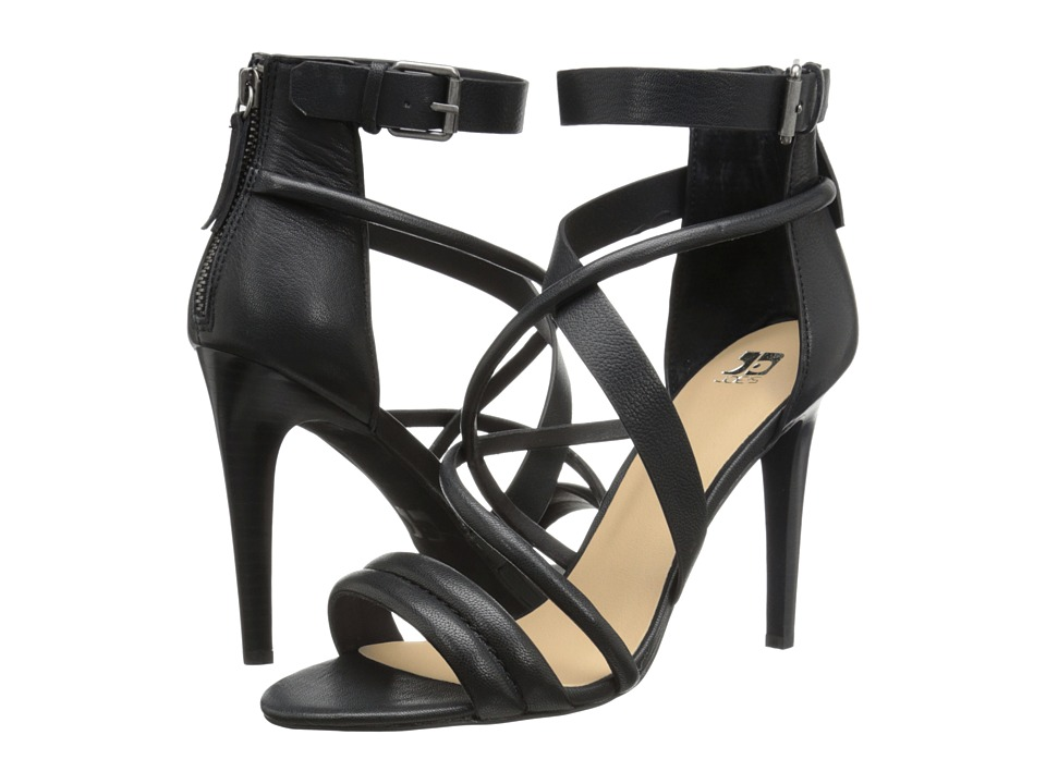 Joe's Jeans - Robbie (Black Leather) High Heels