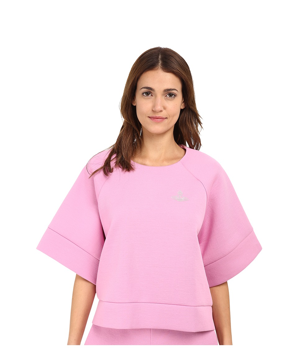 Vivienne Westwood - Bloom Top (Pink) Women's Long Sleeve Pullover