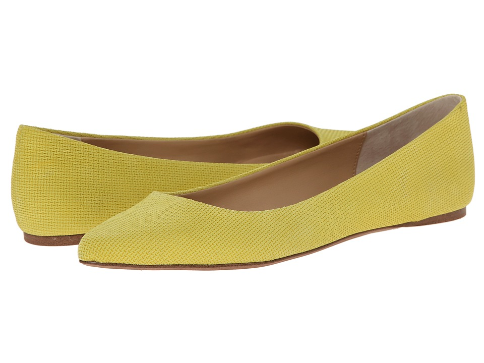 Joe's Jeans - Kitty IV (Yellow Leather) Women's Shoes