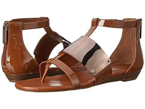 BCBGeneration - Angelika (Toffee Patent) Women's Sandals