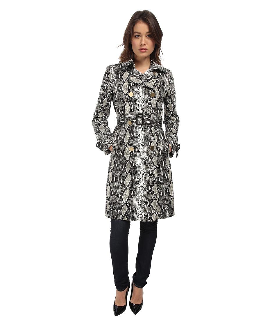 Diane von Furstenberg - Ariane Trench Coat (Camo Python) Women's Coat plus size,  plus size fashion plus size appare