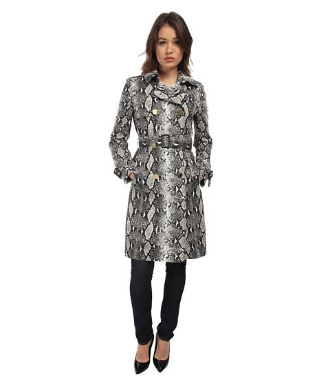 Diane von Furstenberg - Ariane Trench Coat (Camo Python) Women