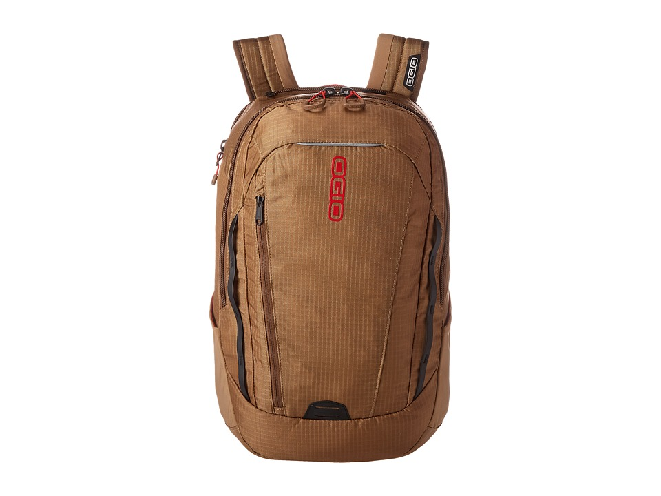 OGIO - Apollo Pack (Khaki/Red) Backpack Bags