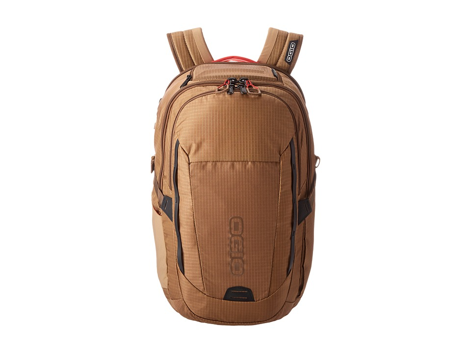 OGIO - Ascent Pack (Khaki/Red) Backpack Bags