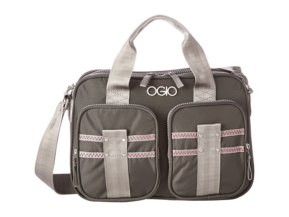 OGIO - Barcelona Shoulder Bag (Gray/Pink) Shoulder Handbags
