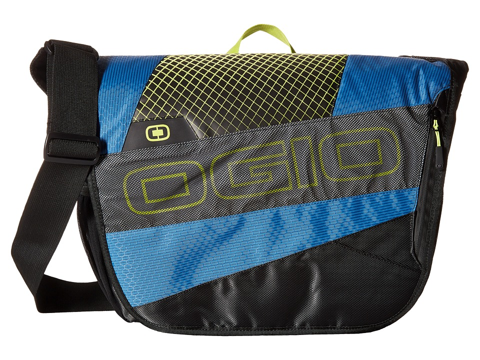 OGIO - X-Train Messenger (Navy/Acid) Messenger Bags