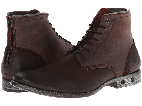 Diesel - Boa Vista Chron Zip (Winetasting) Men's Lace-up Boots