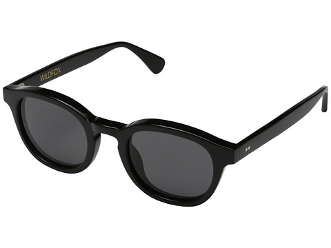 Wildfox - Smart Fox (Black) Fashion Sunglasses