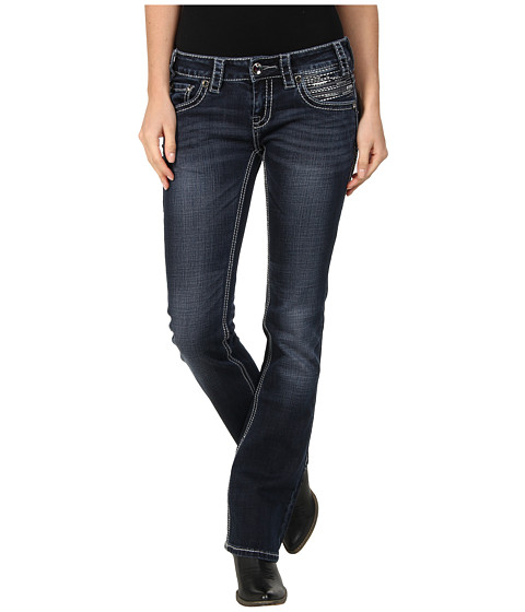 Rock and Roll Cowgirl - Rival Low Rise (Dark Wash) Women