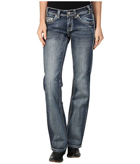 Rock and Roll Cowgirl - Riding Bootcut (Medium Vintage) Women's Jeans