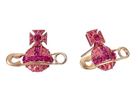 Vivienne Westwood - Poly Earrings (Pink Gold) Earring