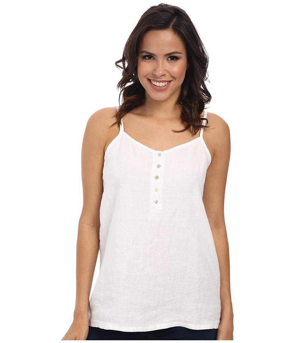 Allen Allen - Linen Cami (White) Women's Sleeveless