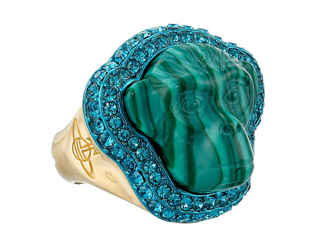 Vivienne Westwood - Fay Ring (Nano Turquoise/Yellow Gold) Ring