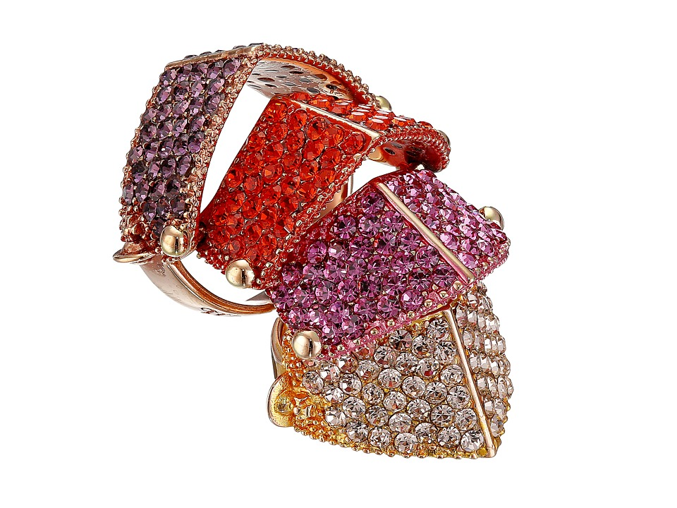 Vivienne Westwood - Regent Ring (Nano Maroon/Fuchsia/Yellow) Ring