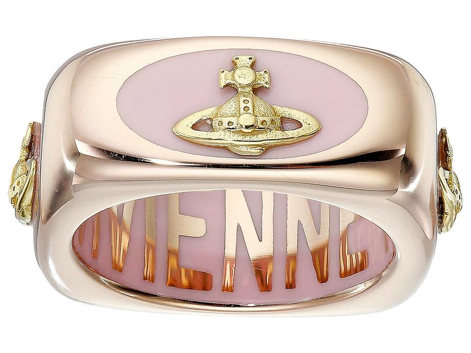 Vivienne Westwood - Ane Ring (Pink Gold) Ring