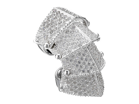 Vivienne Westwood - Pave Armour Ring (Silver) Ring