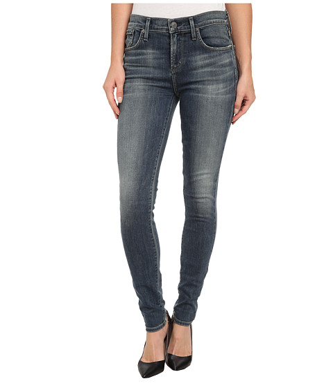 A Gold E - Sophie High Rise Skinny in Scandal (Scandal) Women's Jeans