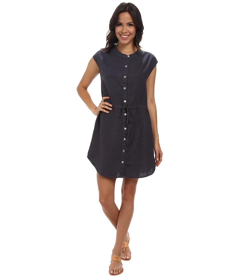 Allen Allen - Sleeveless Shirt Dress (Flint) Women's Dress