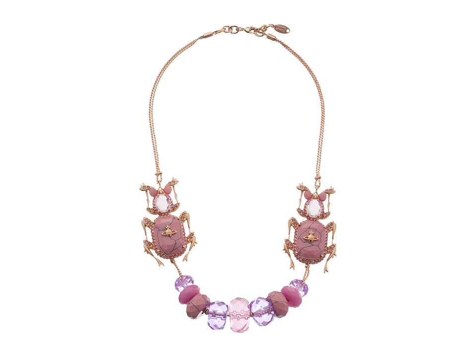 Vivienne Westwood - Salome Necklace (Pink Gold) Necklace