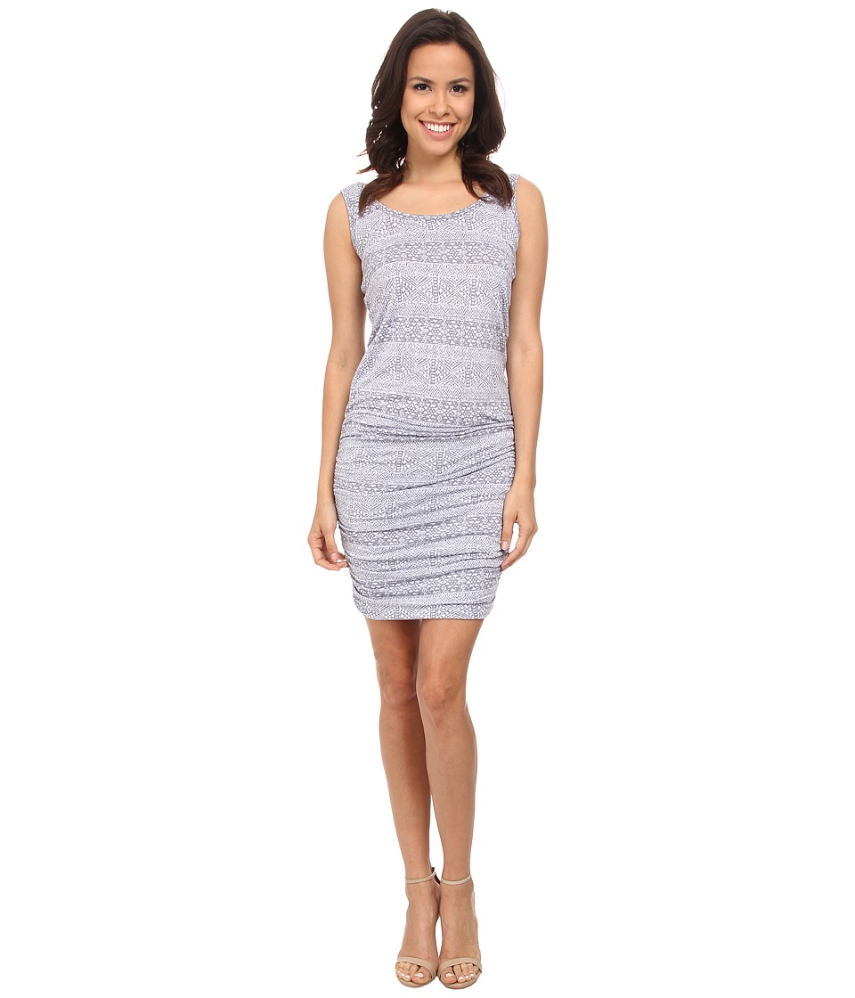 Allen Allen - Ruched Dress (Flint) Women's Dress