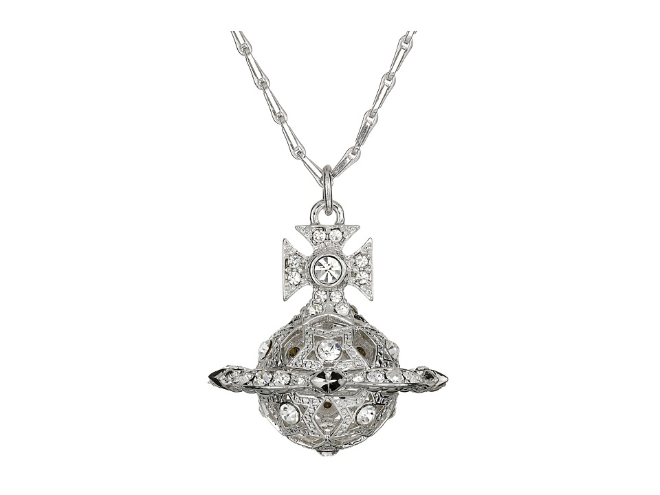 Vivienne Westwood - Joyce Pendant (Rhodium) Necklace