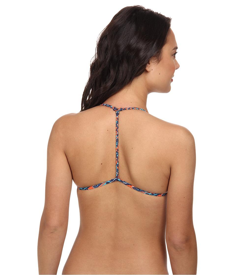 Vix - Sofia by Vix Fok Braid T Back Top (Folk Multi) Women