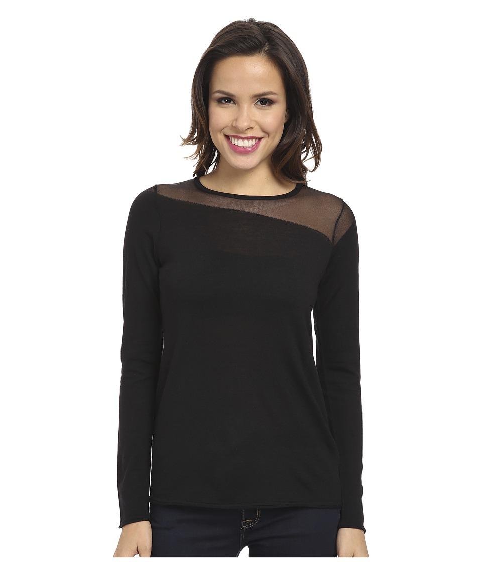 Elie Tahari - Kaori Sweater (Black) Women