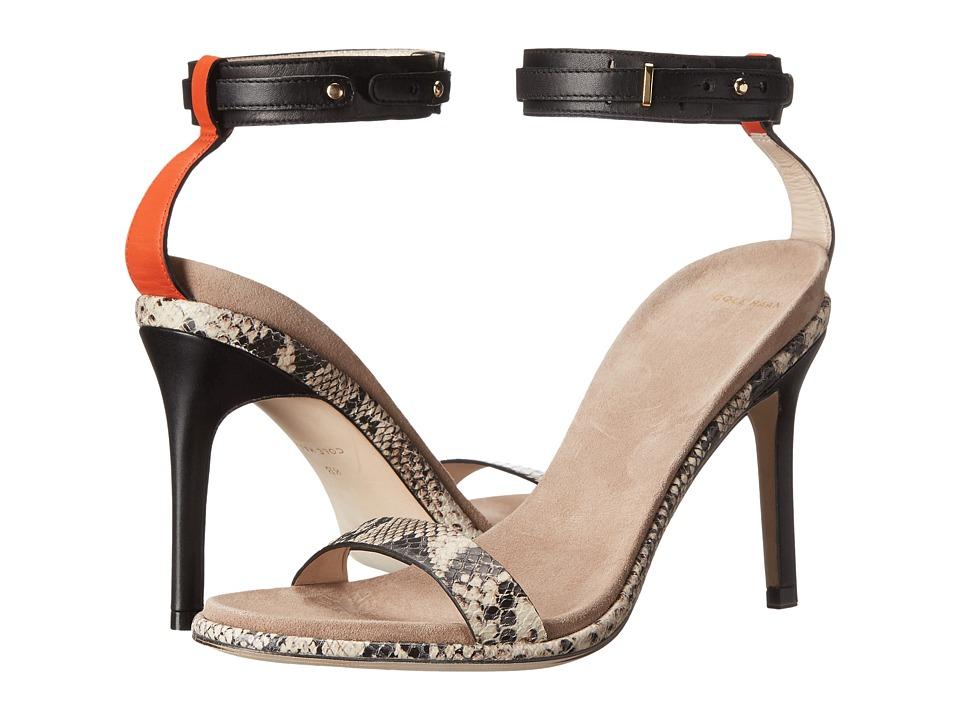 Cole Haan - Cyro Sandal (Black/Roccia Snake Print) Women's Sandals