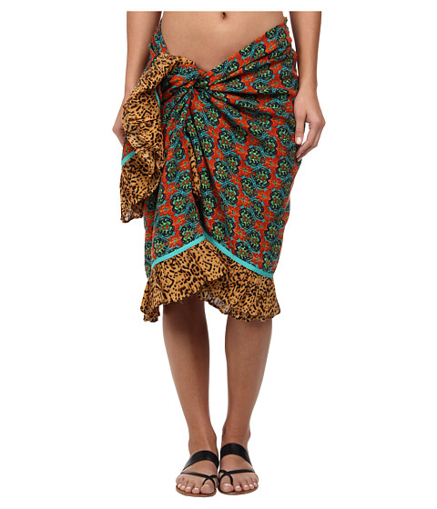Vix - Sofia by Vix Tajik Beach Throw Pareo Cover-Up (Tajik Multi) Women