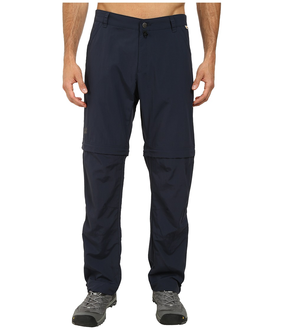 Jack Wolfskin - Canyon Zip Off Pants (Night Blue) Men's Casual Pants