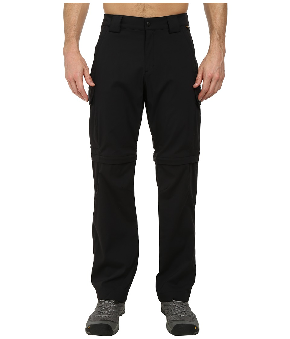 Jack Wolfskin - Activate Zip Off Pants (Black) Men's Casual Pants