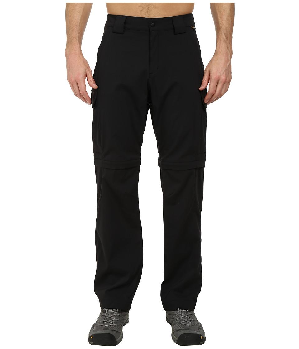 Jack Wolfskin - Activate Zip Off Pants (Black) Men's Casual Pants