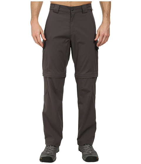 Jack Wolfskin - Activate Zip Off Pants (Dark Steel) Men