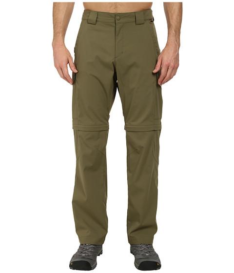 Jack Wolfskin - Activate Zip Off Pants (Burnt Olive) Men's Casual Pants
