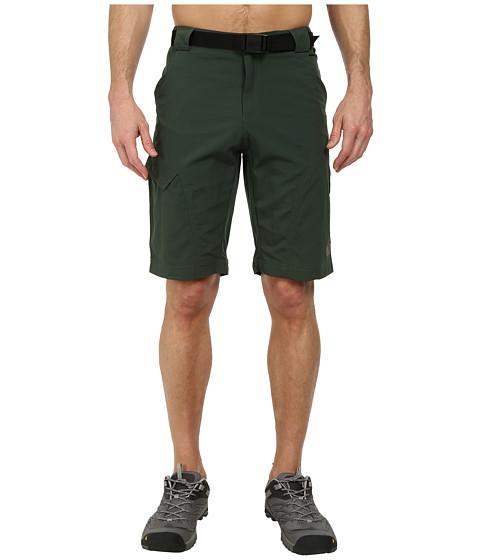 Jack Wolfskin - Hoggar Shorts (Spruce) Men's Shorts