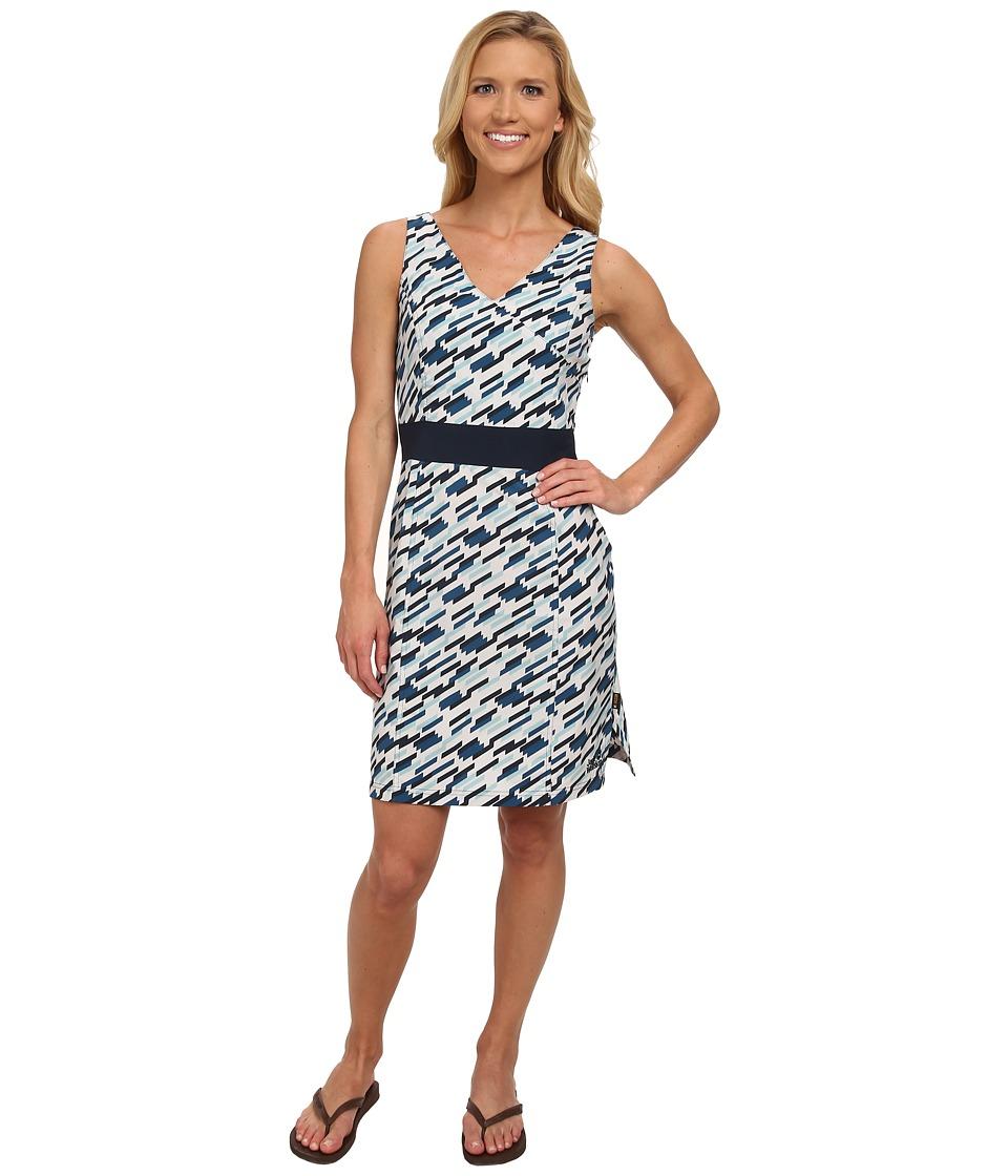 Jack Wolfskin - Beaumont Dress (Moroccan Blue All Over) Women