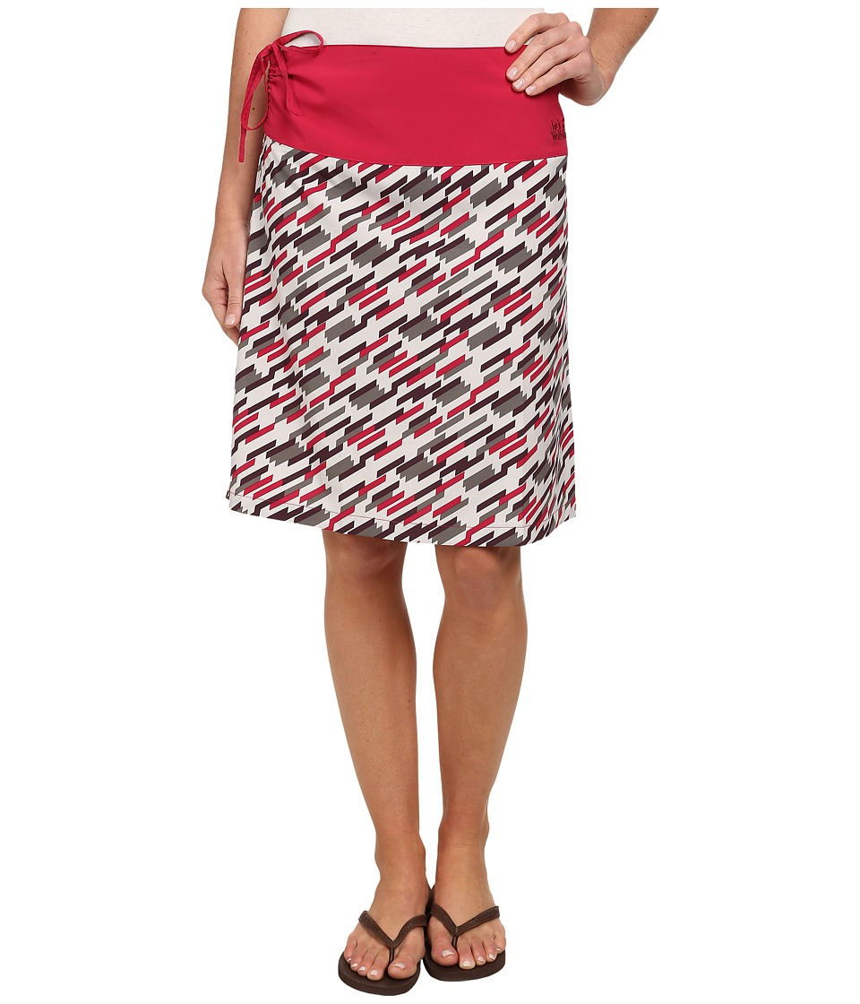 Jack Wolfskin Beaumont Skirt (Grapevine All Over) Women